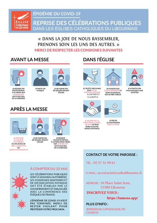 Regles sanitaires Libourne